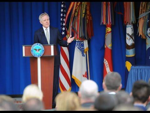 SECNAV Speaks at Pentagon LGBT Pride Month Ceremony