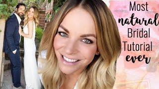 Most Natural Bridal Look Ever + HUGE life announcement!