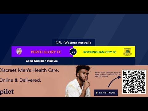Football West NPL WA Round 2 (L), Perth Glory (NYL) Rockingham City Football Club