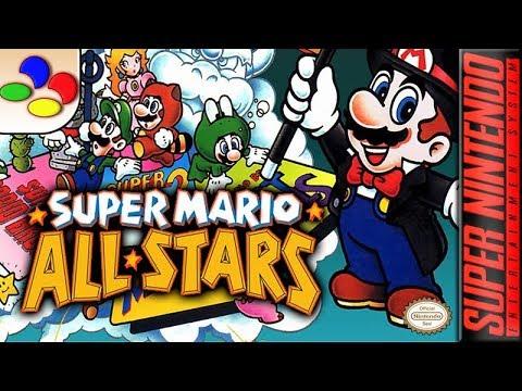 Longplay Of Super Mario All Stars Youtube