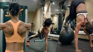 Alicia Vikander training for Lara Croft