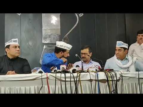 Delhi CM Arvind kejriwal Important Press Conference at Chandigarh