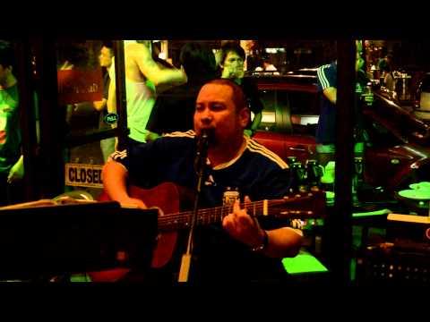 Bob Guerrero Singing Time After Time In Marshall's Irish Pub, Cebu City