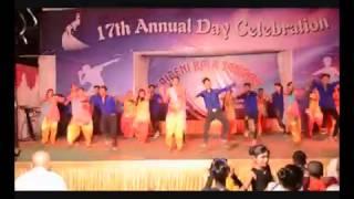 tera rang balle balle    boys vs girls (dance battle) on 17th annual day celebration of T.K.S