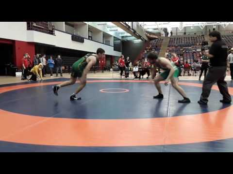 2016 Dino Invitational: 72 kg Miles Kent vs. Thomas Johnston