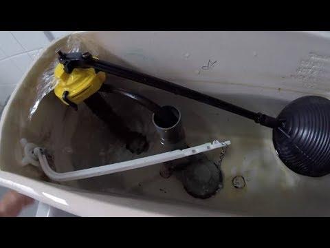 American Standard Toilet Repaired