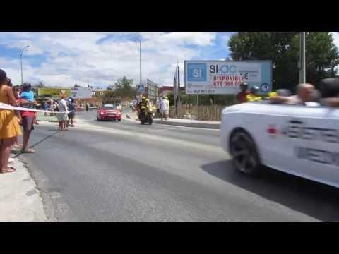 La Vuelta 2015 pasando por Coin (Malaga)