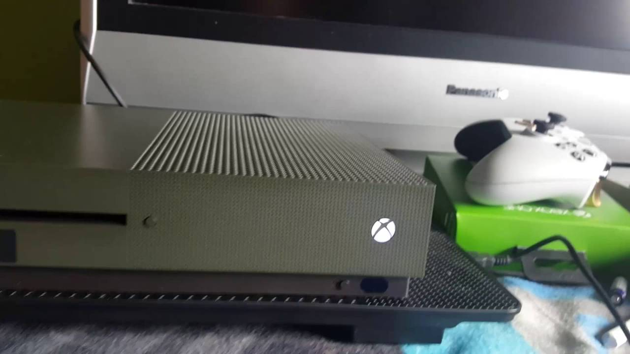 battlefield 1 xbox one s unboxingmilitary green youtube