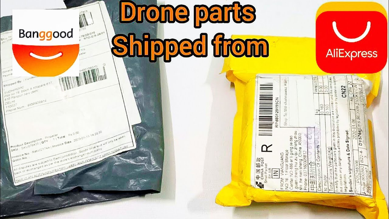 Drone parts Shipped From Aliexpress And Bangood.Com Explain in Hindi
