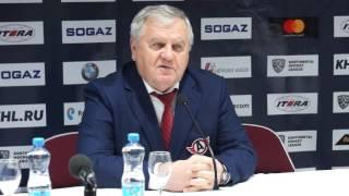 """Пресс-конференция: """"Динамо"""", Рига - """"Автомобилист"""" (28.01.2017)"""
