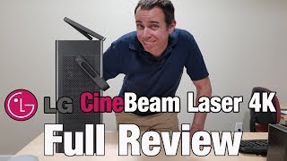 LG HU80KA 4k Laser Projector Full Review