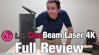 LG HU80KA 4k Laser Projector Full Review
