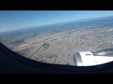 Viaje en avión Córdoba - Buenos Aires 16 enero 2017
