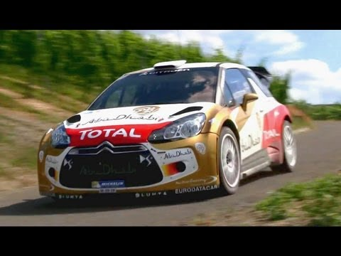Dani Sordo Test Germany 2013 - Citroën DS3 WRC
