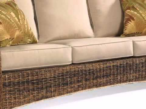 Seagrass Sofa St. Kitts Collection   Wickerparadise.com