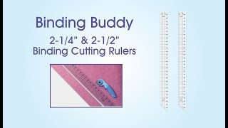 June Tailor Binding Buddy Ruler Demonstration Video