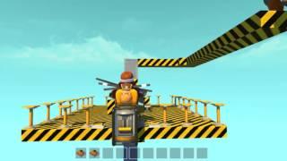 Scrap Mechanic - Подъемник до небес