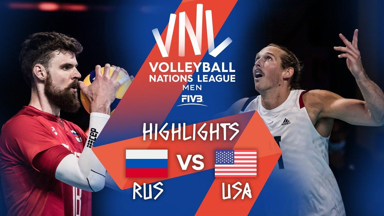 Download RUS vs. USA - Highlights Week 2 | Men's VNL 2021