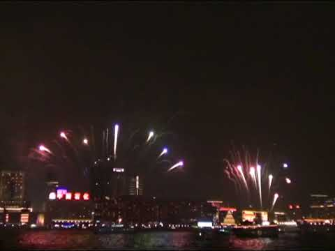 A Symphony of Lights Kowloon V4.0 20051223 with Fireworks Cantonese