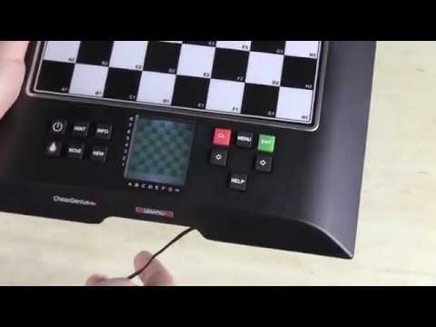 chess genius pro how to power with ac adapter youtube. Black Bedroom Furniture Sets. Home Design Ideas