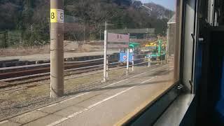 急行色の車窓から〜羽越本線・勝木→府屋〜【キハ40系新津車惜別】