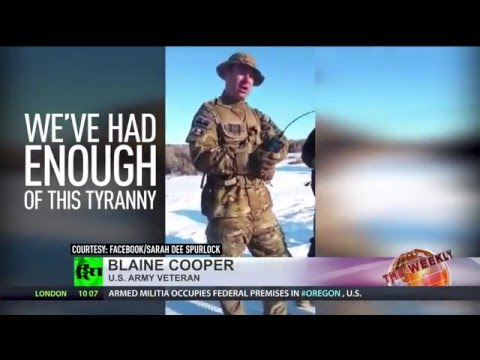 Armed Militia Seize Fed Building In Stand Against U.S. Gov't