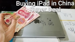 I Bought iPad in China 📱 Super Deal 😱😲
