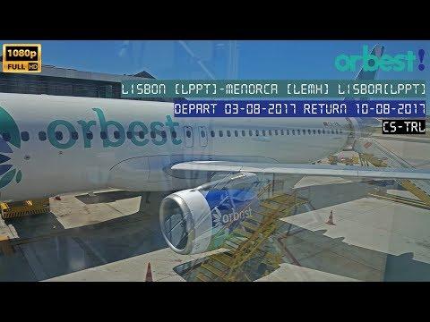 Lisboa LIS - Menorca [E95401] - Lisboa [E95402]