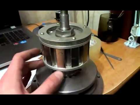 видео: Генератор на постоянных магнитах своими руками (permanent magnet generators with their own hands)