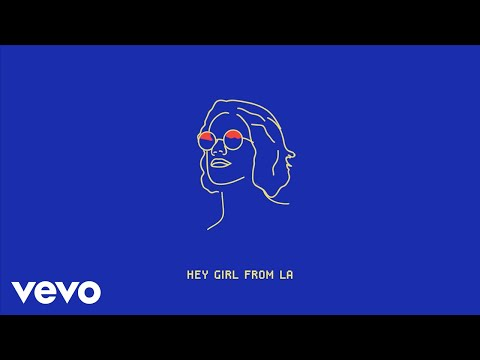 Franke - Girl From LA (Official Lyric Video)