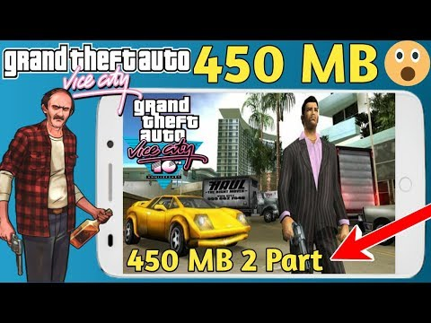 Download GTA Vice City Full Game Highly Compressed 2 Part Play Without Problems