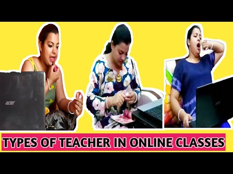 TYPES OF TEACHERS IN ONLINE CLASSES from YouTube · Duration:  6 minutes 8 seconds