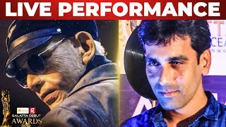 Ratsasan Villain Live Performance | Actor Saravanan | Galatta Debut Awards