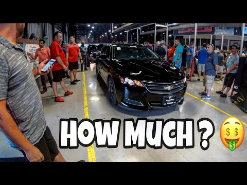 Oklahoma Auto Exchange Dealer Only Auction Walk Around + Prices 8-21-19