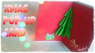 How To Make a Christmas Card - 3D Christmas Card