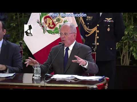Perú Construcción -  Pedro Pablo Kuczynski - 100 Días de Gobierno.
