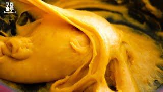 かぼちゃのインジョルミ(韓国版餅) 쿠킹하루 Cooking Haruさんのレシピの書き起こし