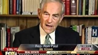 Ron Paul Talks TSA on Freedom Watch 11/22/10