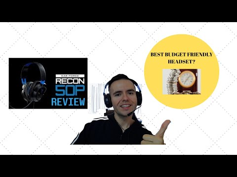 Turtle Beach Recon 50P REVIEW! ★☆★  BEST BUDGET HEADSET OF CONSOLE GAMERS  ★☆★