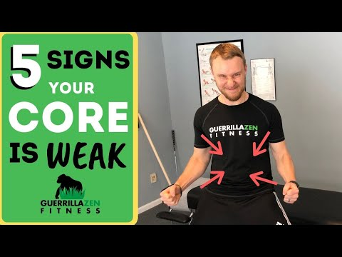 Core Strength Test | 5 Signs Your Core Muscles are WEAK!