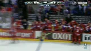 Russia - Slovakia 6-2 Final IIHF 2012