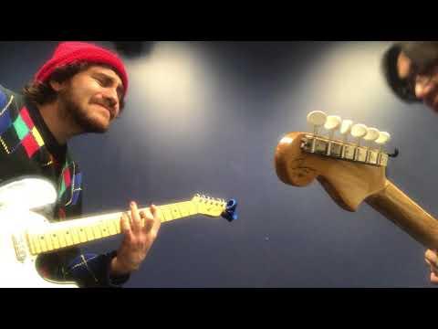 Berklee Guitar private lesson / Jamming Blues with my student / Tomo Fujita