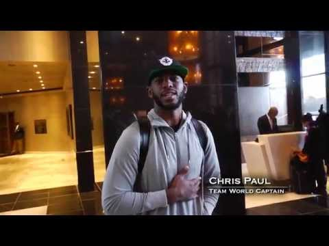 NBA Players Arrive for First Ever NBA Game in Africa!