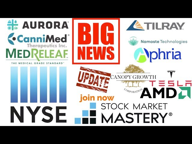 Aurora release more information on the NYSE.(Stock market update)