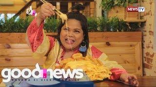 Good News: Maey Bautista, binisita ang mga pambarkadang kainan