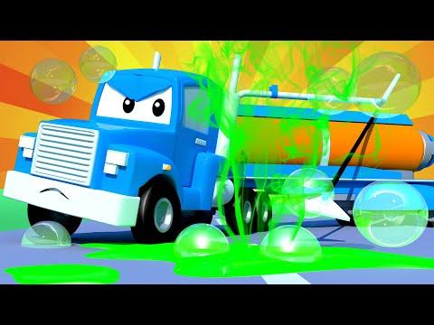 The Vaccum Truck Carl The Super Truck Car City Cars And Trucks