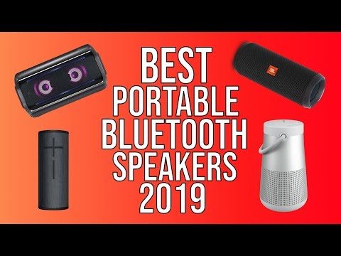 Best Portable Bluetooth Speakers of 2019 | Top 5 | Top Wireless Bluetooth Speaker 2019