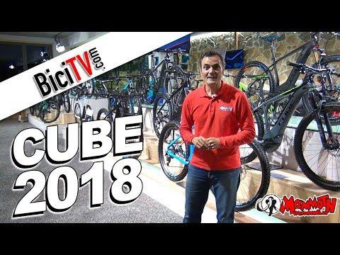 Bicicletas Cube 2018.