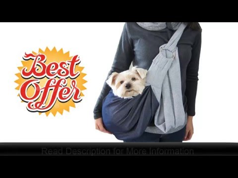 Alfie Chico Reversible Pet Sling Carrier by Petoga Couture