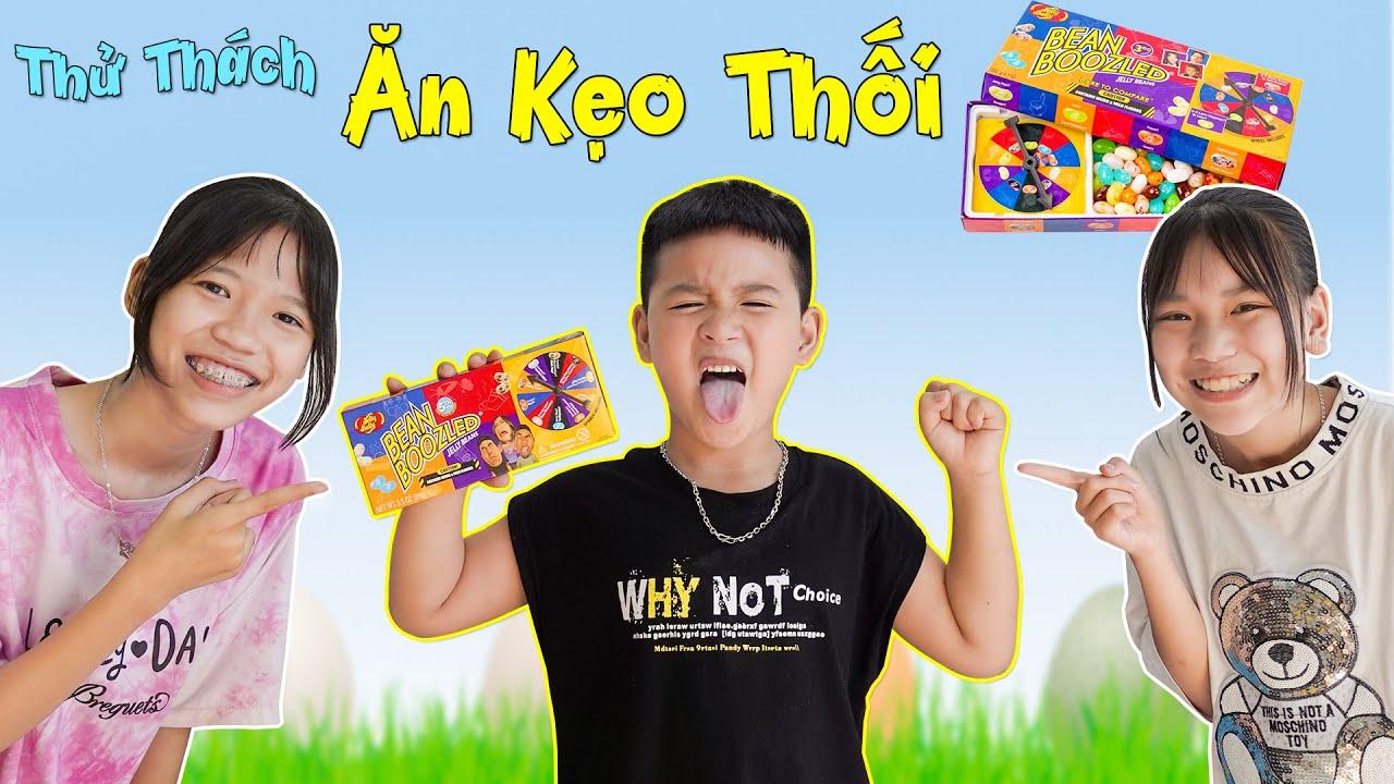 Thử Thách Ăn Kẹo Thối ♥ Minh Khoa TV